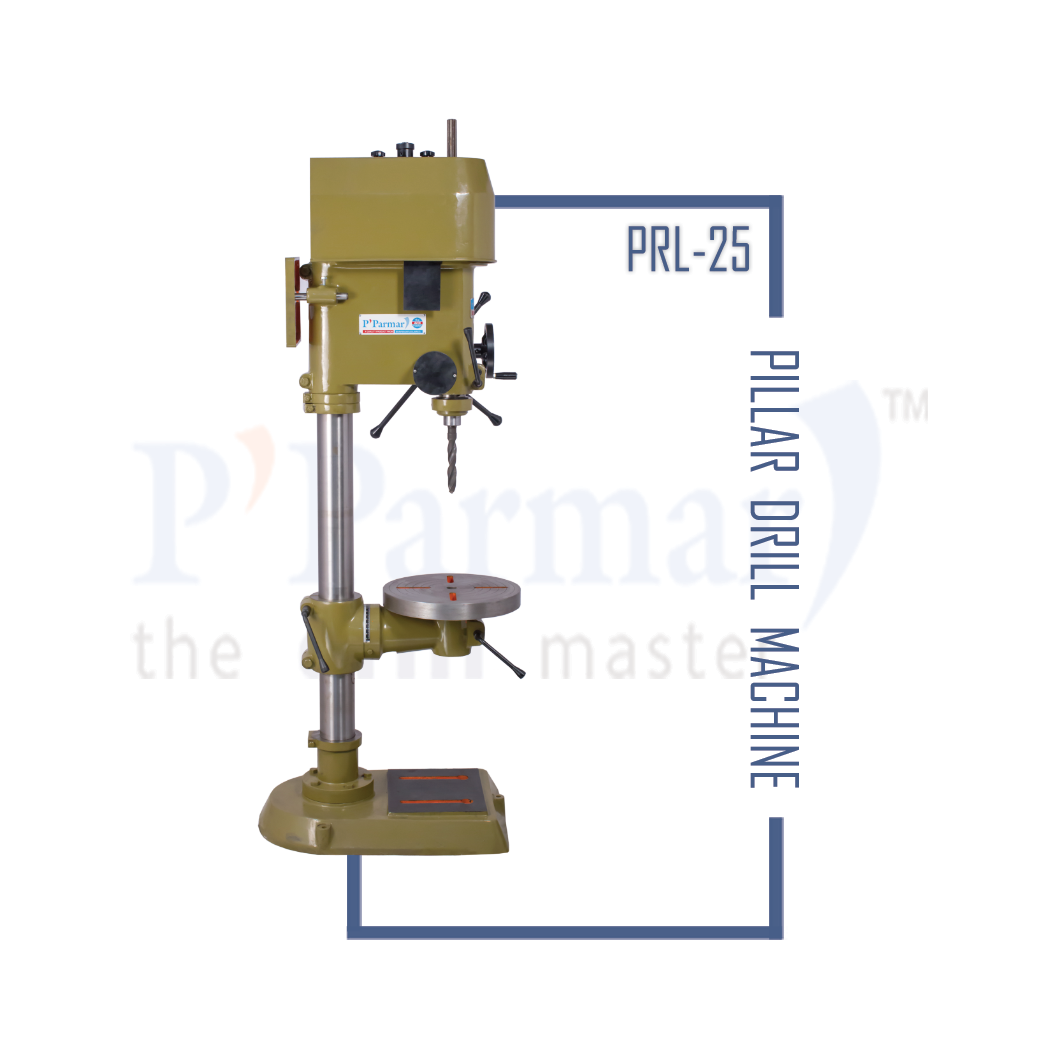 25MM Pillar Drilling Machine | Parmar Drill Machines
