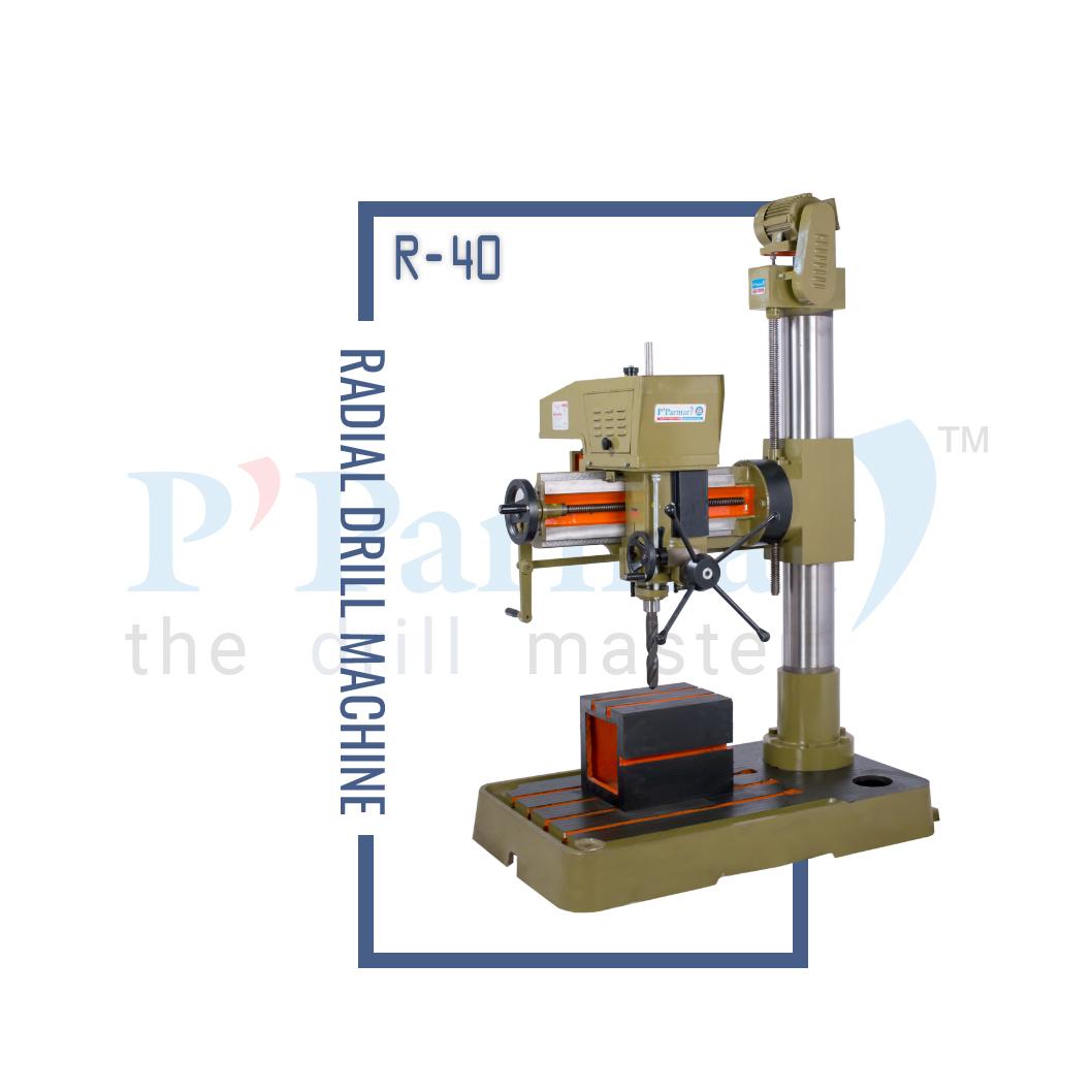 40MM Radial Drill Machine | Parmar Drill Machines - Gujarat